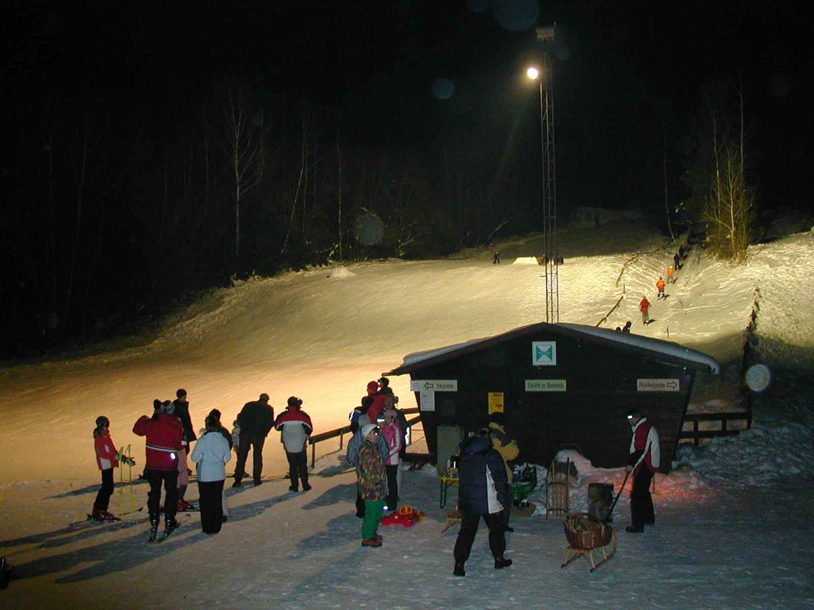 Skilift Ebersberg Nachtfahrt